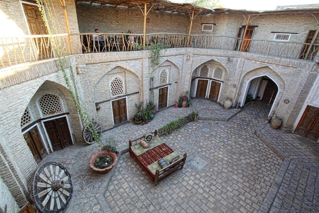 Amulet Hotel Bukhara, book Amulet hotel