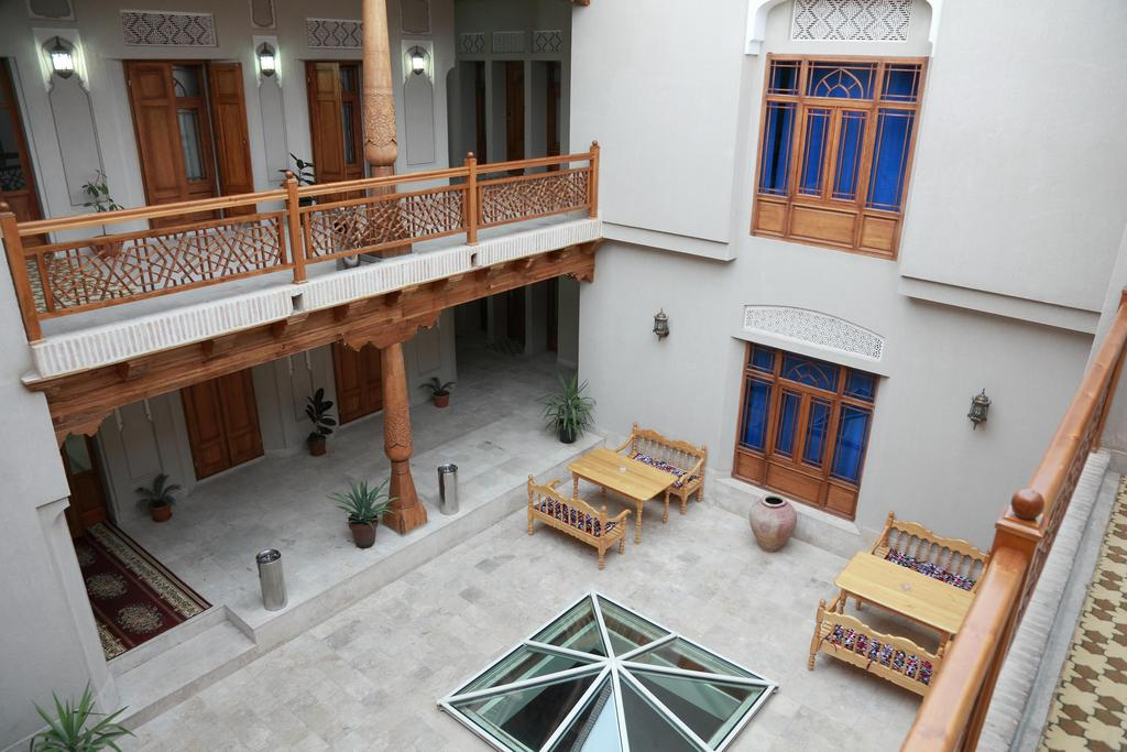 Devon Begi Hotel Bukhara, book Devon Begi hotel